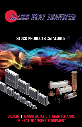 ALLIED COOLER PRODUCT CATALOGE