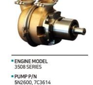 SEA WATER PUMP 5N2600 (7C3614)
